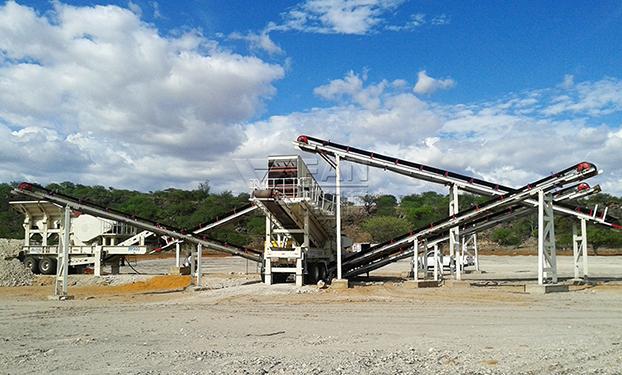 Les déchets de construction des équipements de concassage